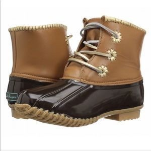 """  Jack Rogers   NIB """"Chloe"""" duck boots"""